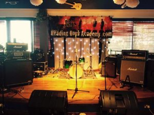 Rock Academy Gig set up photo