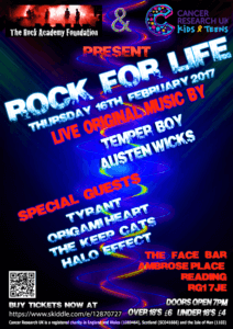 Rock For Life Lineup 110117 v1